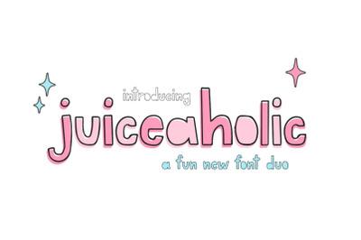 Juiceaholic Font Duo