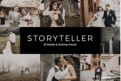 20  Storyteller LR Presets