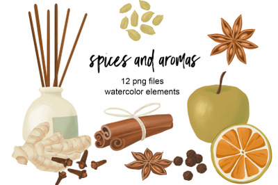 Spices and aromas