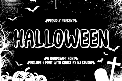 halloween include 4 file font