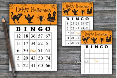 Halloween bingo game,Halloween bingo cards,Halloween Party-41