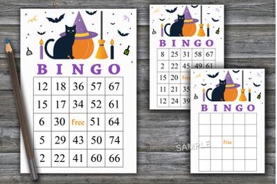 Halloween bingo game,Halloween bingo cards,Halloween Party-42