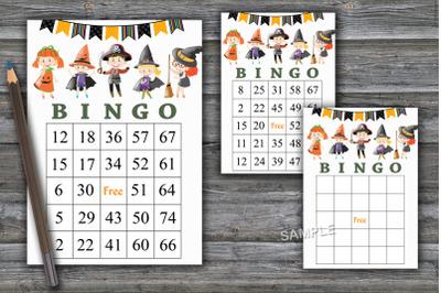 Halloween bingo game,Halloween bingo cards,Halloween Party-46