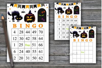 Halloween bingo game,Halloween bingo cards,Halloween Party-47