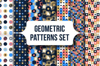 Abstract Geometric Patterns Set