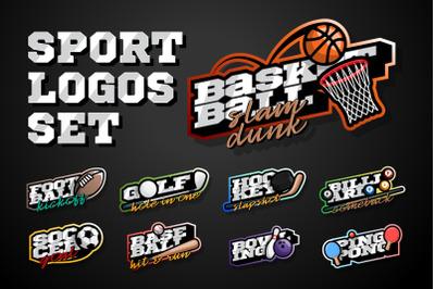 Sport Logos Set