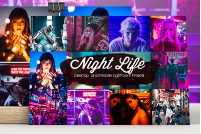 Night Life Lightroom Presets