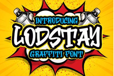 Lodstay Graffity Font