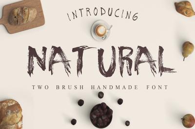 Natural 2  Font