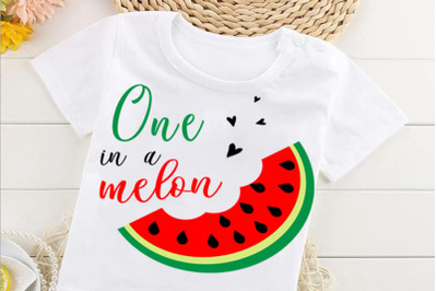 One in a Melon , Watermelon  card