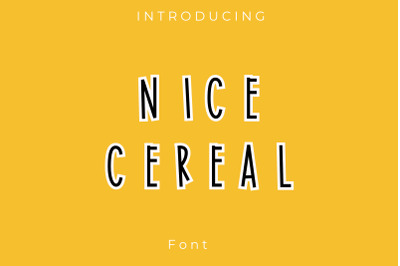Nice Cereal