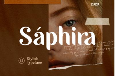 Saphira - Stylish Typeface