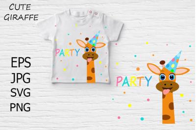 Cute Giraffe Party.