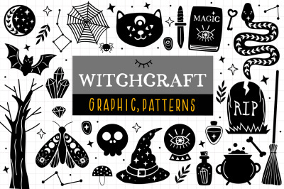 Witchcraft And Magic Set