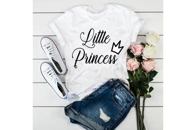 Little Princess svg file.