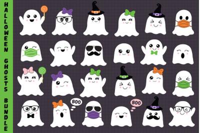 Halloween Ghosts Bundle