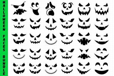 Halloween Faces Bundle