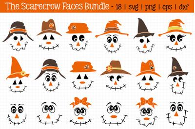 Scarecrow Faces Bundle