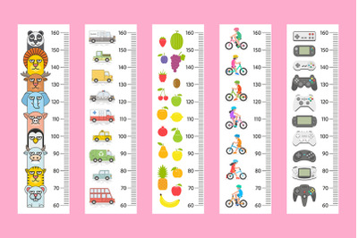 Kids height chart