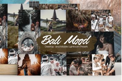 Bali Mood Lightroom Presets