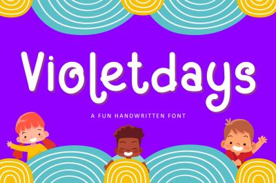Violetdays - Kids Font