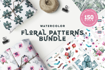 Floral Patterns Bundle 90% OFF