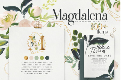 Magdalena Watercolor set