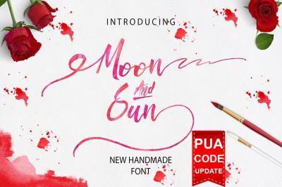 Moon & Sun Font