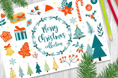 Merry christmas set and BONUS