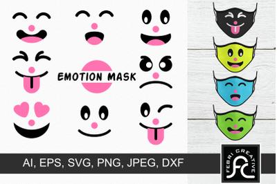 Funny Child Emotion Mask
