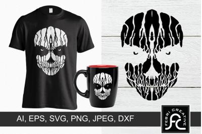 Creepy T-Shirt Design