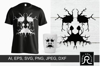 Spooky Tshirt Design