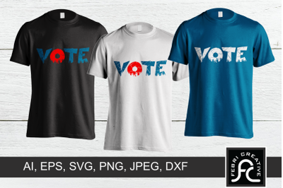 Vote T-shirt Design