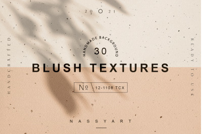 30 Blush Craft Paper Textures