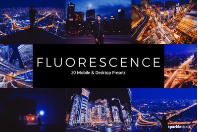 20  Fluorescence LR Presets
