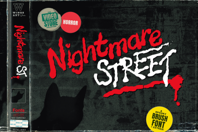 Nightmare Street - The Retro Horror Font