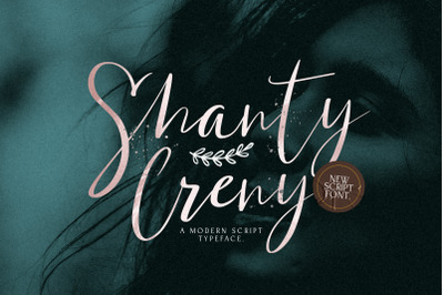Shanti Creny - Modern Script Font