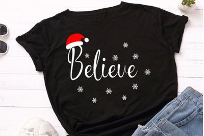 Believe svg, christmas svg design, cut file, clip art. This file is gr