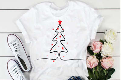Christmas Tree svg, christmas svg design, cut file, clip art. This fil