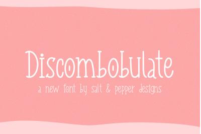 Discombobulate Font