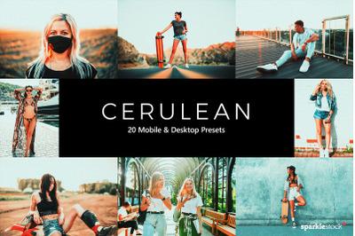 20 Cerulean Lightroom Presets & LUTs