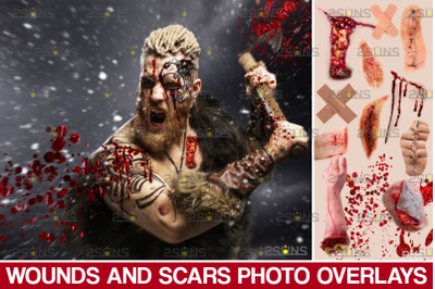 Wounds and scars Blood splatter photoshop overlay, Halloween png