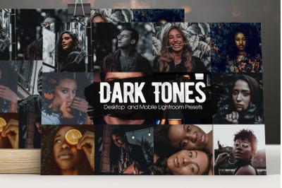 Dark Tones Lightroom Presets