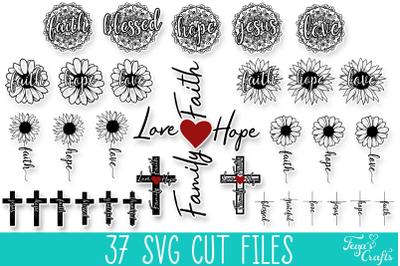 Faith SVG Cut Files Bundle | Religious SVG Cut Files