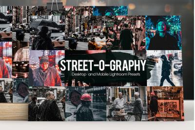 Street-o-graphy Lightroom Presets