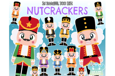 Nutcrackers Clipart - Lime and Kiwi Designs