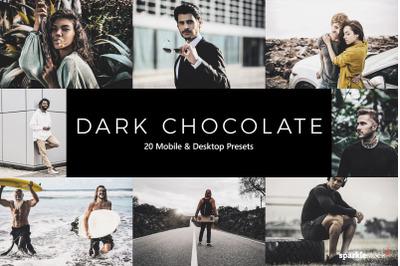 20  Dark Chocolate LR Presets