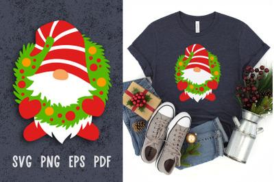 Christmas svg cut files Gnome svg Christmas gnomes svg cut files