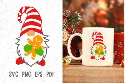 Christmas svg Gnome svg Christmas mug Sublimation designs