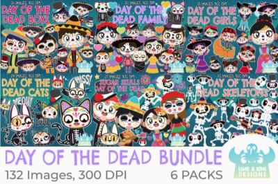 Day of the Dead/Da de Muertos Clipart Bundle - Lime and Kiwi Designs